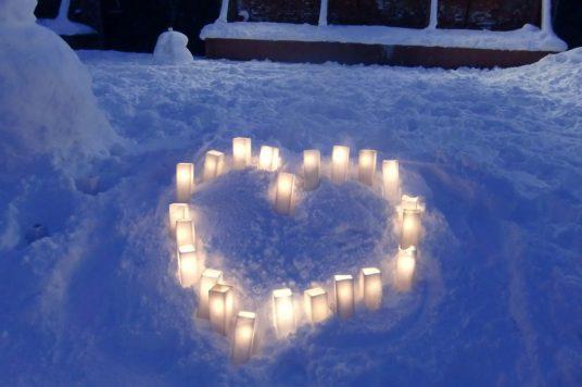 金森キャンドルバレンタイン  優しい灯に包まれる2日間  同時開催は『ハコダテ  キニナルカクレガ』