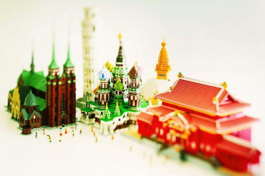 【開業30周年記念イベント】2018,3,1追加情報UP! PIECE OF PEACE 『レゴ®ブロック』で作った世界遺産展PART-3 函館開催