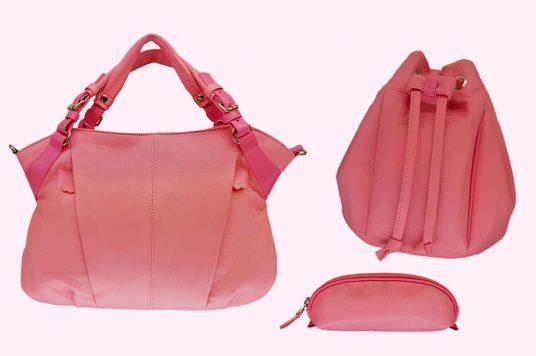 春を先取り!新色桜カラーのバッグが登場。