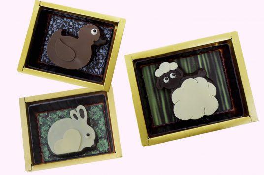 プティメルヴィーユのバレンタイン。可愛い動物のショコラがたくさん!!