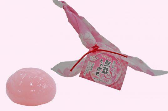 """゛洗顔せっけん蒟蒻しゃぼん """" 季節限定商品「桜(さくら)」発売中です。"""