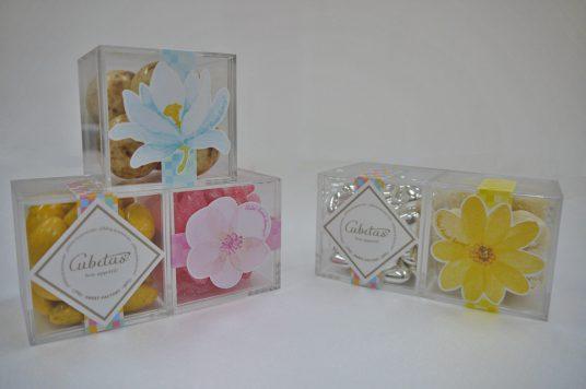キュビタスの春限定カラフルなお花のパッケージが登場!
