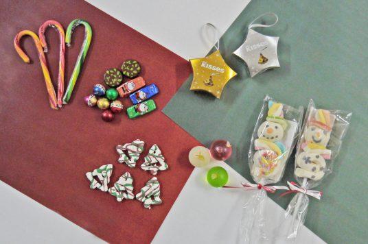 楽しいクリスマスのお菓子がたくさん入荷しました。オーナメントにもピッタリのあの商品も入荷!