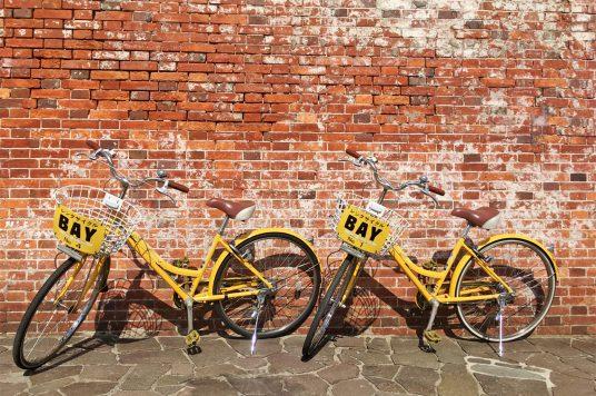 レンタサイクルはじめました。自転車でベイエリアを巡ってみませんか。
